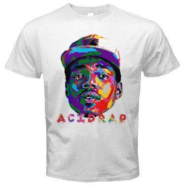 Acid Rap Shirt Chance the Rapper T Shirt tee white