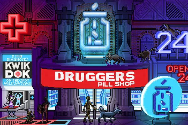38 best Cyberpunk Pixel Art images on Pinterest