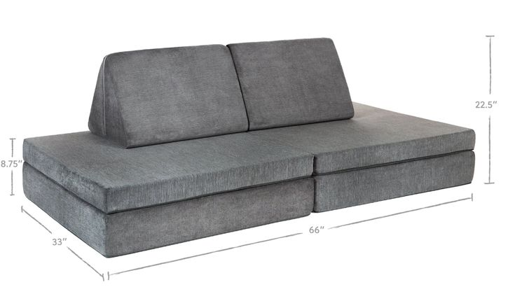 The Nugget - Koala / A calm, cool gray | Kids couch, Free ...