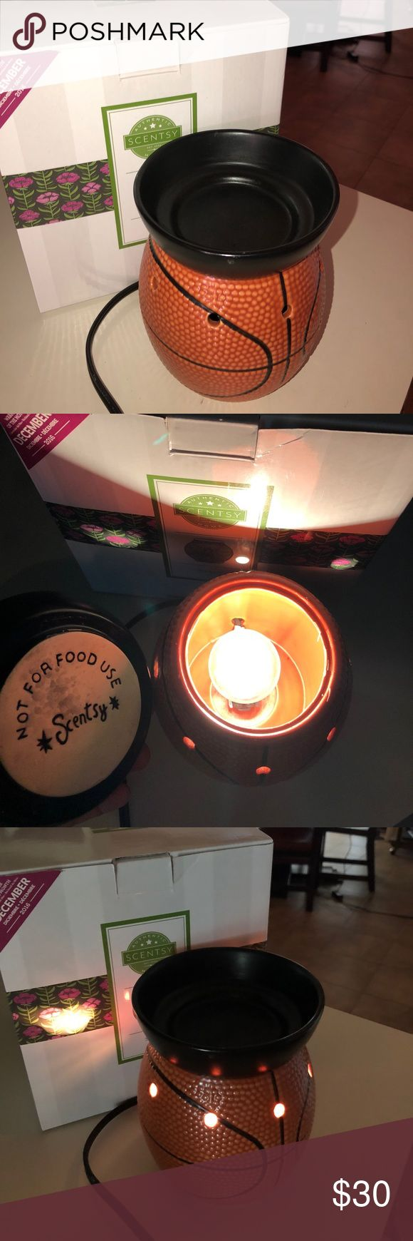 LIKE NEW BASKETBALL SCENTSY Cute scentsy great for a child's room, lightly used, perfect condition! scentsys are the best!! scentsy Other