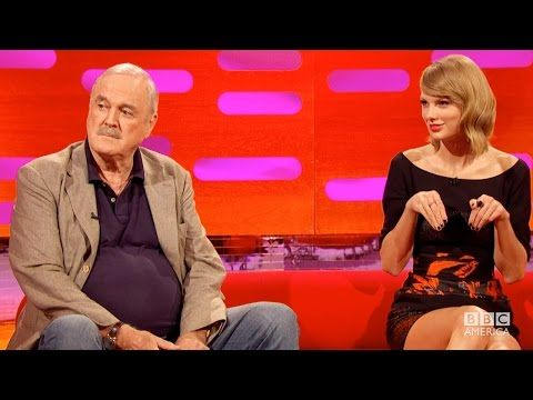 Watch Taylor Swift React to John Cleese's Insults About Her Cat on 'The Graham Norton Show' | Billboard