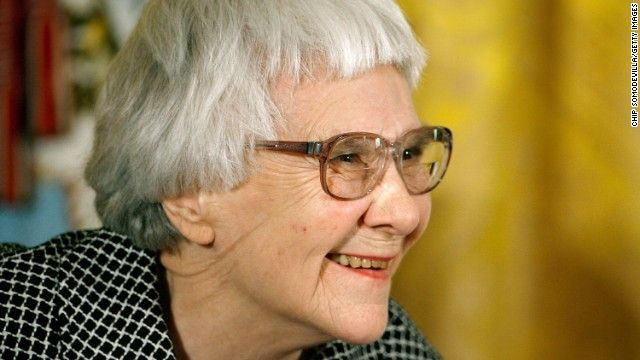 """Harper Lee to publish new book, sequel to 'Mockingbird'! """"Fifty-five years after 'To Kill a Mockingbird,' Harper Lee is publishing a second book, her publisher said Tuesday. 'Go Set a Watchman,' which Lee completed in the 1950s and then set aside in favor of 'Mockingbird,' will be published July 14."""" ( Pulitzer Prize winner and 'To Kill A Mockingbird' author Harper Lee Photo by Chip Somodevilla/Getty Images)"""
