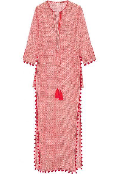Talitha | Jaya cotton and silk-blend voile maxi dress