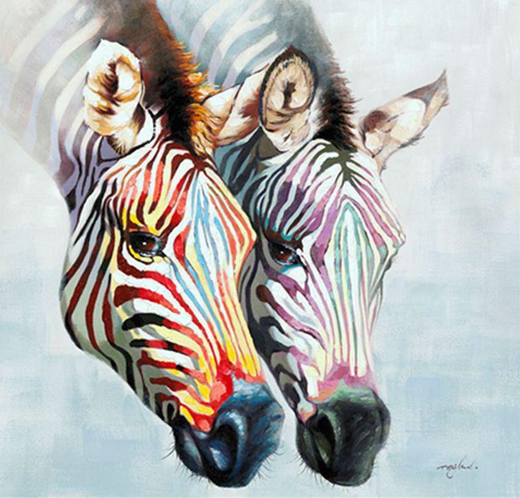 zebra_schilderij - Google zoeken
