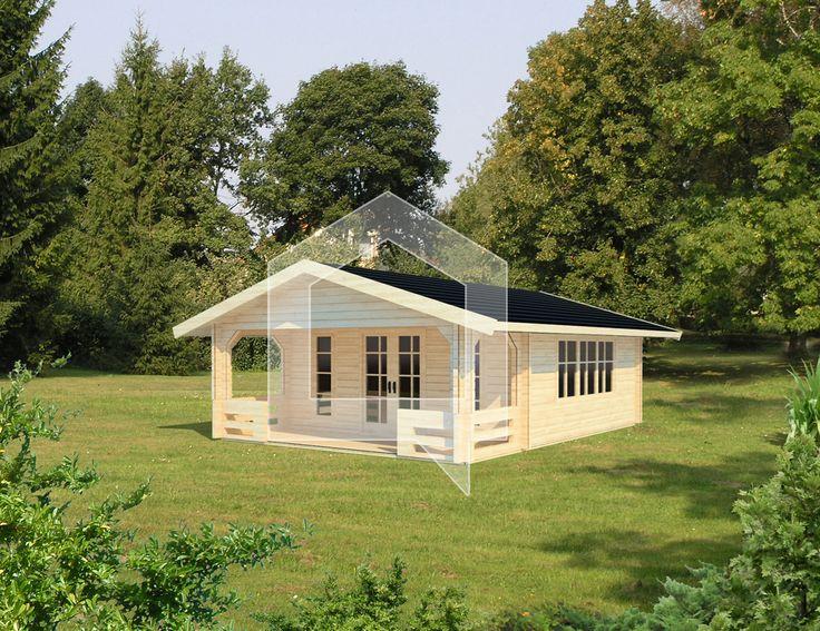 Dārza mājiņa Ērglis, 27 m2; Cena - € 4.899; Viens no populārākajiem mūsu modeļiem pagājušajā gadā, šogad bija pilnveidots un kļuva vēl plašāks.