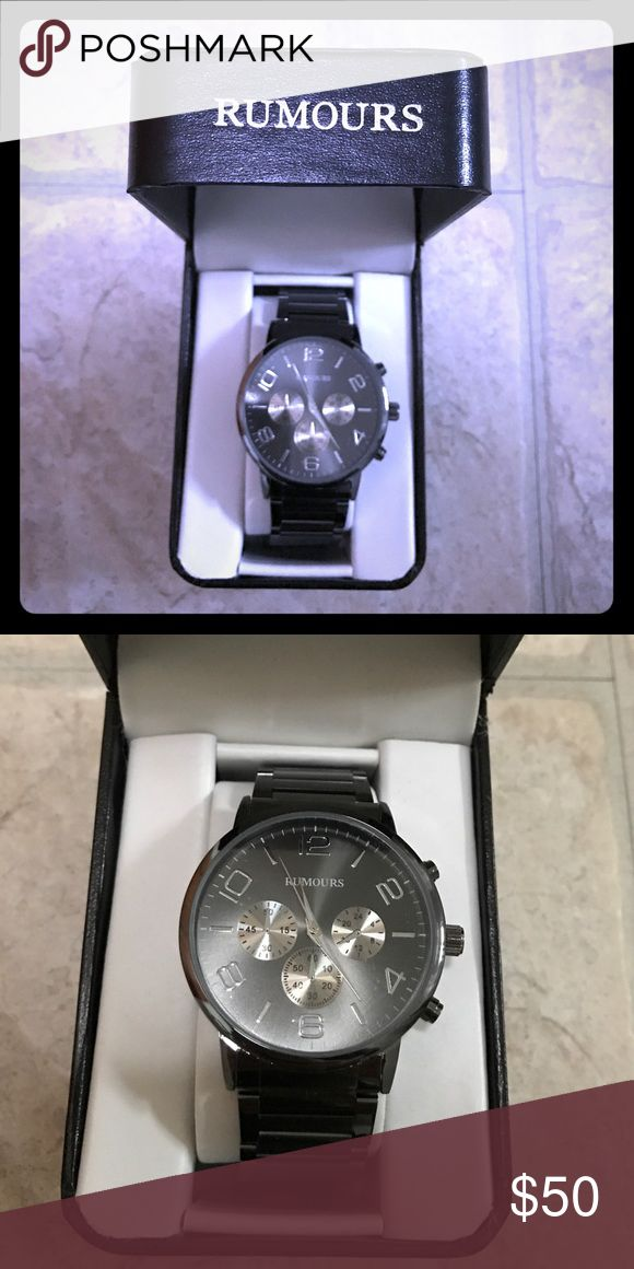 Brand new men's Rumours watch Brand new, never worn & still in packaging! rumours Accessories Watches