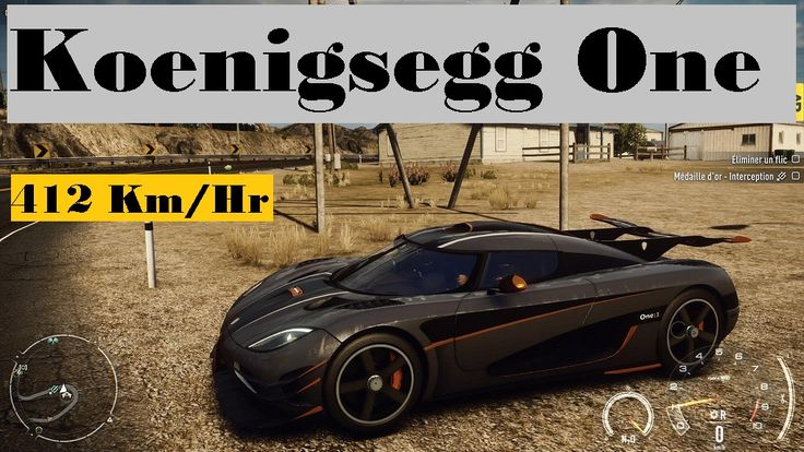 Koenigsegg One Test Drive Need For Speed Rivals 2014 (No Commentary) Test Drive Of Koenigsegg One Top Speed: 412 Km/Hr  Game: Need For Speed Rivals 2014 This is a Demo Drive only to show you how car Looks and Performs.