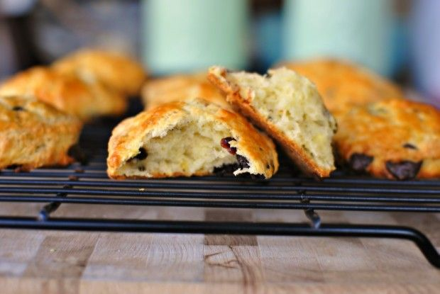 Dark Chocolate Chip, Cherry and Pistachio Scones | Breakfast Recipes ...