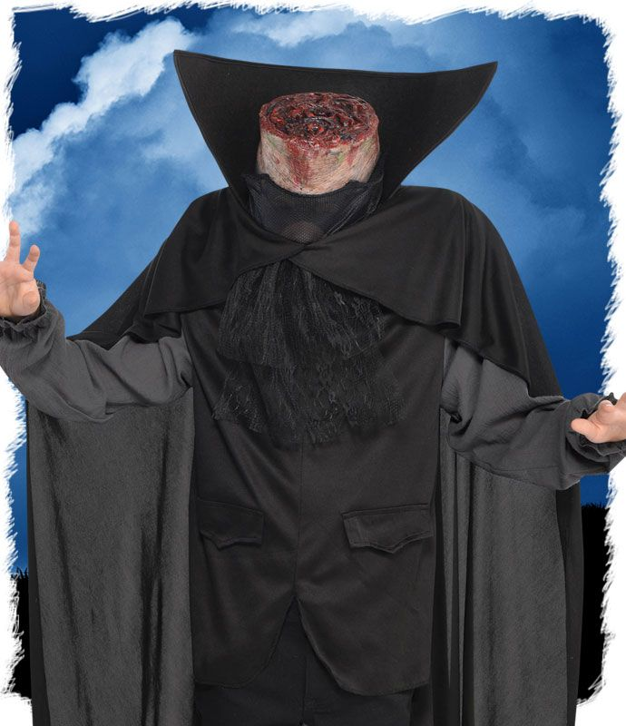 Our favourite Halloween costume of 2016 is the headless horseman! Pick this spooky Halloween fancy dress costume up at partydelights.co.uk.