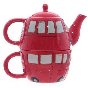Estos juegos de té individuales son muy típicos en los cafés parisinos, pero no es necesario viajar a la Ciudad del Amor para hacerte con alguna de estas teteras montadas sobre la taza, ideales para disfrutar de un té en solitario, o para decorar algún rincón.