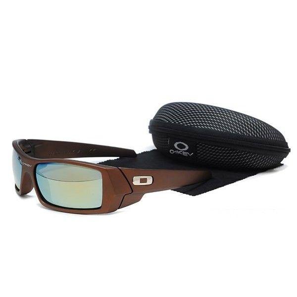 $15.99 Fake Oakley Gascan Sunglasses Light Blue Lens Brown Frames Deals  www.racal.org