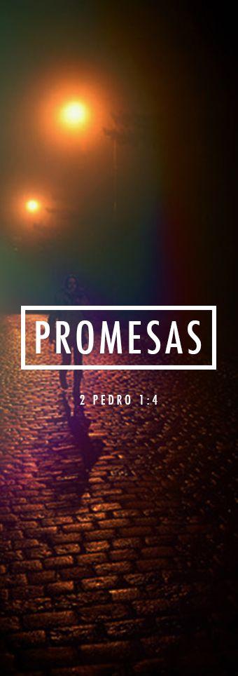 2 Pedro 1:4   Así Dios nos ha entregado sus preciosas y magníficas promesas para que ustedes, luego de escapar de la corrupción que hay en el mundo debido a los malos deseos, lleguen a tener parte en la naturaleza divina.