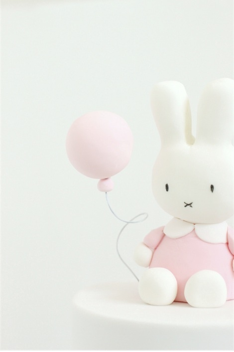 hello naomi - christening - scarett's little bunny cake