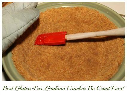 Best Gluten-Free Graham Cracker Pie Crust Recipe Ever - Dairy-Free option