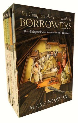 The Complete Adventures of the Borrowers by Mary Norton, http://www.amazon.com/dp/0152049150/ref=cm_sw_r_pi_dp_Lbn.pb06Q3RWT: Worth Reading, Complete Adventure, Childhood Memories, Little People, Book Worth, The Borrowed, Mary Norton, Book Jackets, Children Book