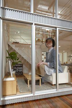 1x1.trans 業界初、1/2サイズのモデルハウス「無印良品の家 グランフロント大阪 家センター」登場!