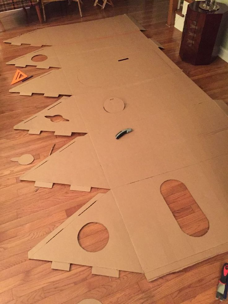 How to build a cardboard Rocket ship