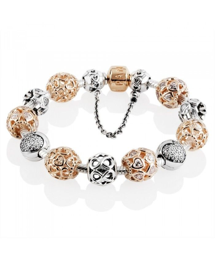 Black Friday Pandora Rose Sweetheart Complete Bracelet Clearance Sale