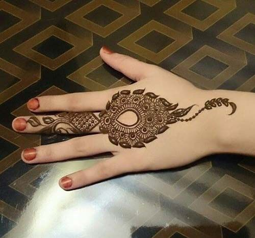 30+ Beautiful and Simple #henna #Mehndi #designs Ideas for hands http://www.ultraupdates.com/2016/02/beautiful-and-simple-henna-mehndi-designs-ideas-for-hands/