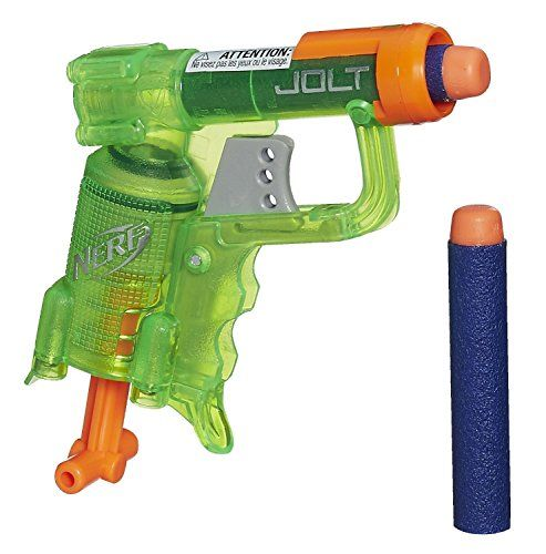 Nerf N-Strike Elite Jolt Blaster (Green), 2015 Amazon Top Rated Pretend Play #Toy