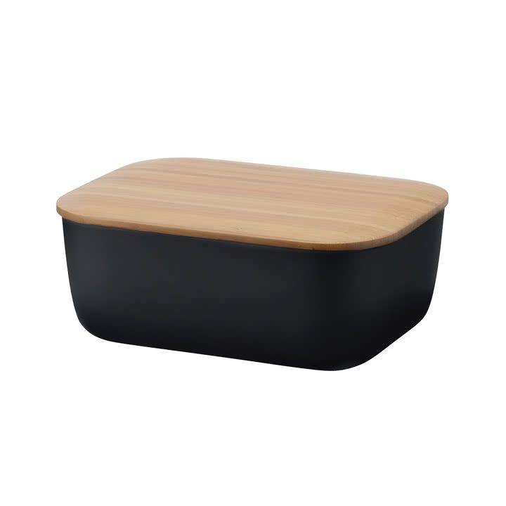 Rig-Tig by Stelton - Box-It butter dish, black