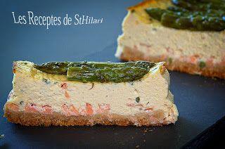 Les Receptes de StHilari: PASTÍS DE FORMATGE AMB SALMÓ