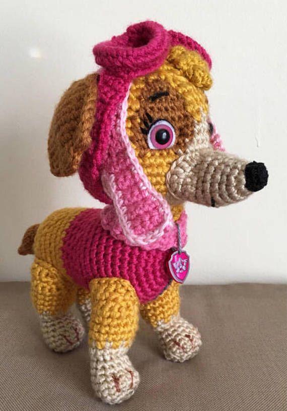Crochet Dog, Crochet Puppy, Dog Crochet Pattern, Dog Pattern
