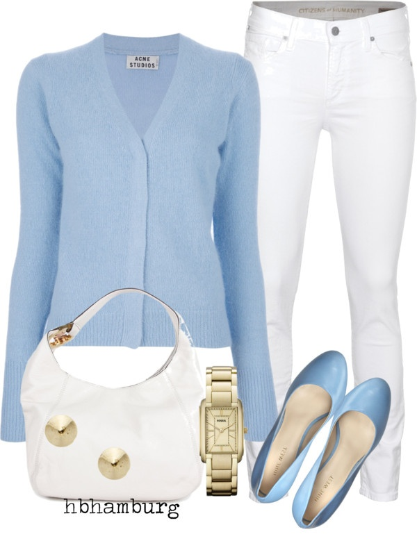 """""""No. 165 - Baby blue"""" by hbhamburg on Polyvore"""