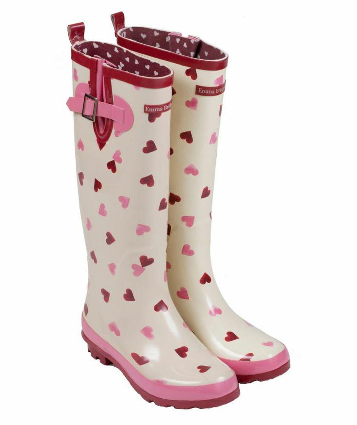 Buy Emma Bridgewater Women's Tall Heart Wellies - Size 4 at Argos.co.uk - Your Online Shop for Women's footwear.
