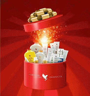 For Christmas think FOREVER LIVING PRODUCTS