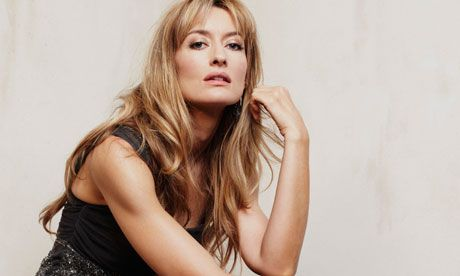"""""""Scribbling things down is my therapy"""": actor Natascha McElhone. Photograph: Matt Holyoak for the Observer"""