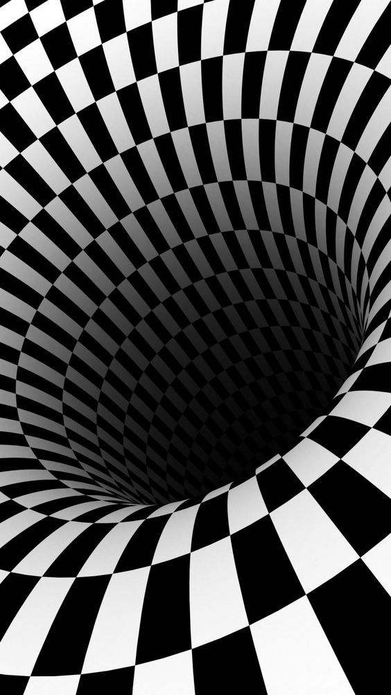 illusion optical hole iphone illusions backgrounds moving wallpapers hd animated vortex checkered draw phone 3d plus visual jailbreak hipnotis holes
