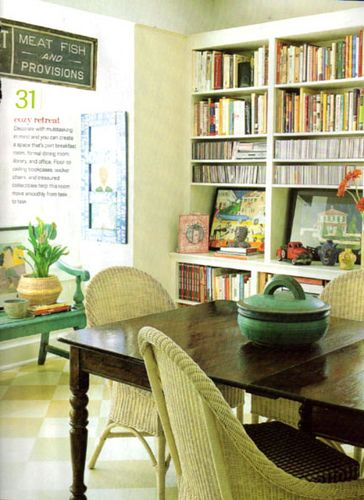 Dining Room Library Wonderful