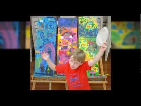 """DoodleJam - Everybody has a Painting Inside """"BURSTING"""" to Get Out! - Unleash your Passion! - vibrant group paintings using doodles #DoodleJam - www.doodlejam.com"""