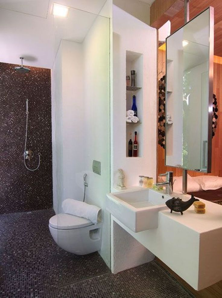 17 best images about bathroom on pinterest shower drain - Modern small bathroom design ...