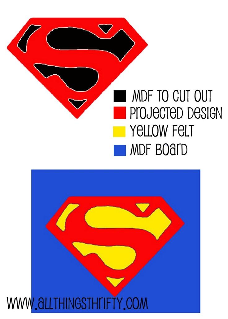superman wall art