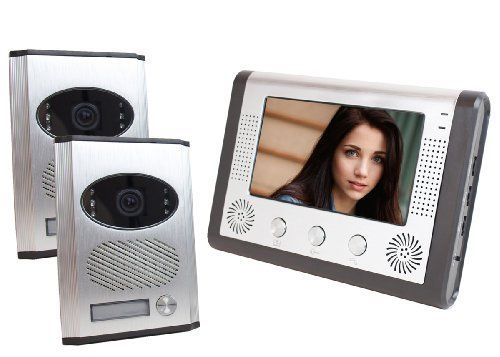 7 Quot Color Monitor Video Door Phone Doorbell Intercom Kit