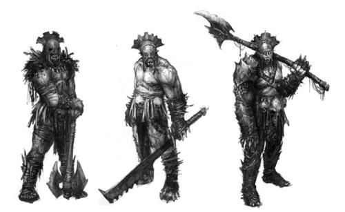 LotR War in the North orc concept art