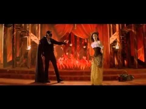 The Phantom of the Opera - The Point of No Return..... This whole scene just gives me tingles.... so much passion.....