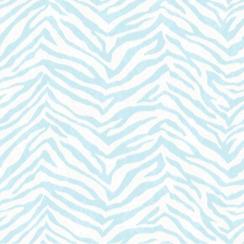 blue zebra print wallpaper - photo #4