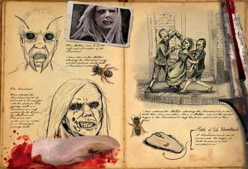 Livro Guia Wesen da Série de TV Grimm Contos de Terror - Que Nem Banana Brinquedos Especiais