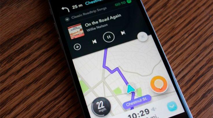 Spotify y Waze