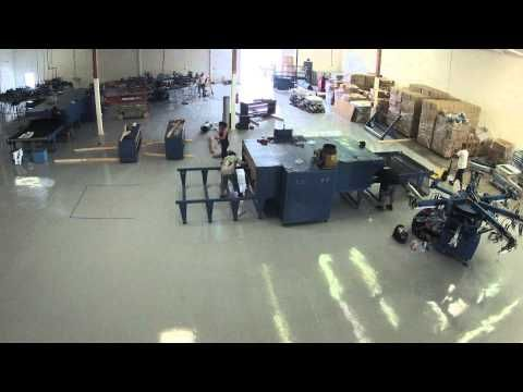 ▶ The Big Move: M&R Screen Printing Equipment Installed (screen printing press & dryer) - DAY 1 - YouTube