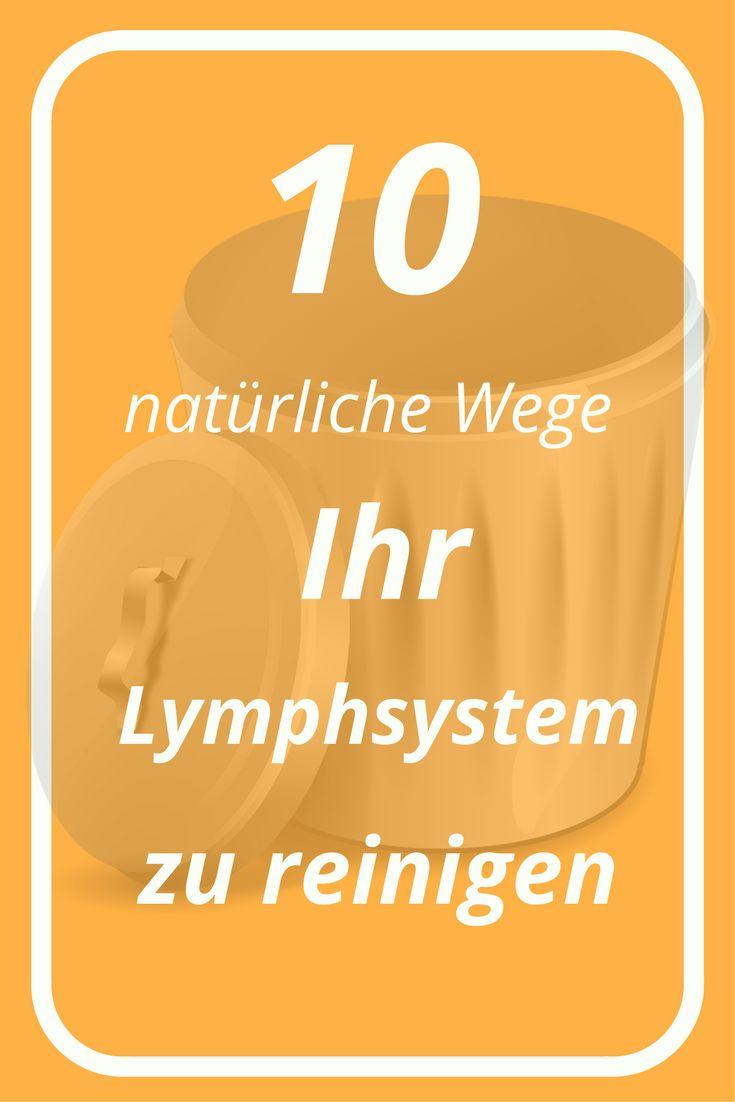 45 best Lymphreinigung Lymphsystem images on Pinterest ...