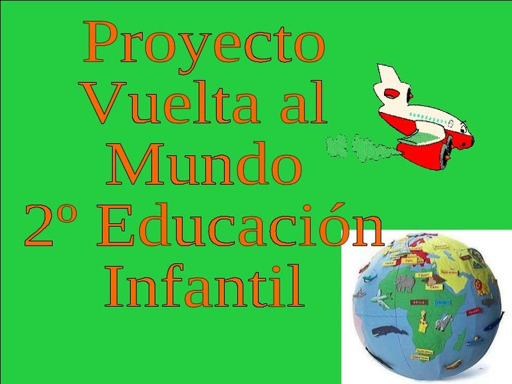 Proyecto Vuelta al Mundo 2º Educación Infantil