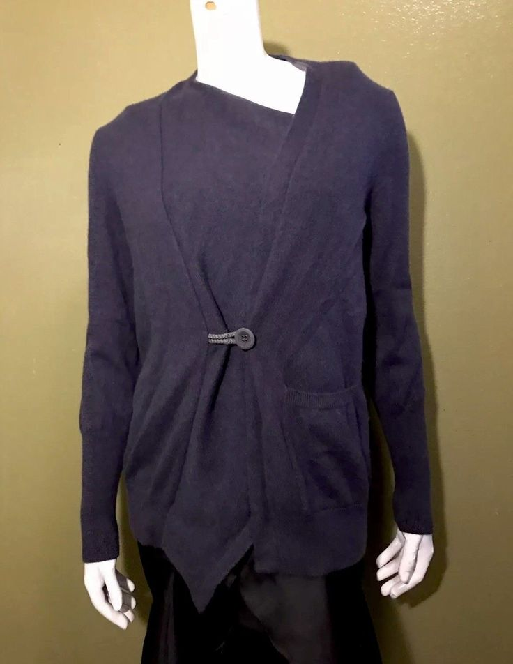 Brunello Cucinelli 100% Cashmere Navy women's cardigan Sz L | Clothing, Shoes & Accessories, Women's Clothing, Sweaters | eBay!