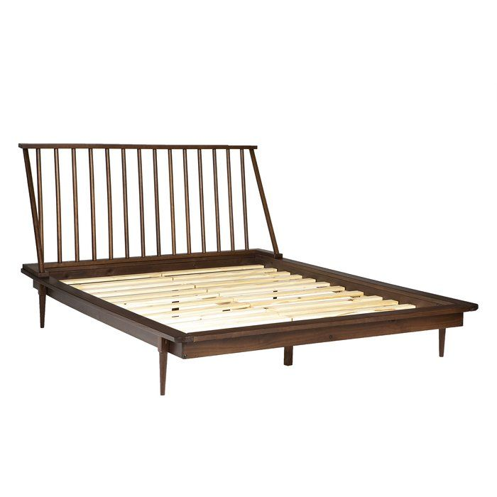 Armand Platform Bed Queen Platform Bed Modern Platform Bed Spindle Bed