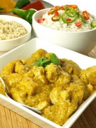 Recette - Poulet au curry | 750g