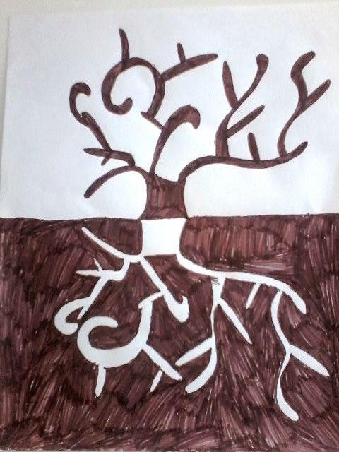 Stablo - zrcalni odraz - 3.r.
