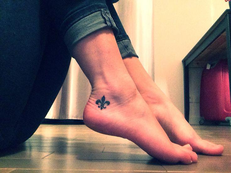 New tattoos #fleurdelys